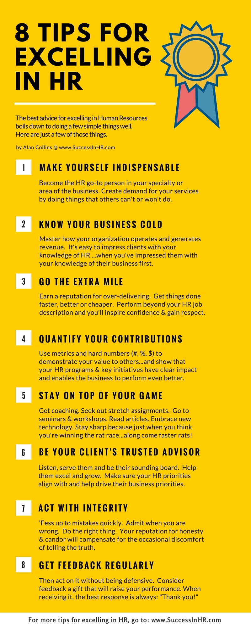 tips for excelling in hr infographic to inspire you click here to a jpg version of this infographic